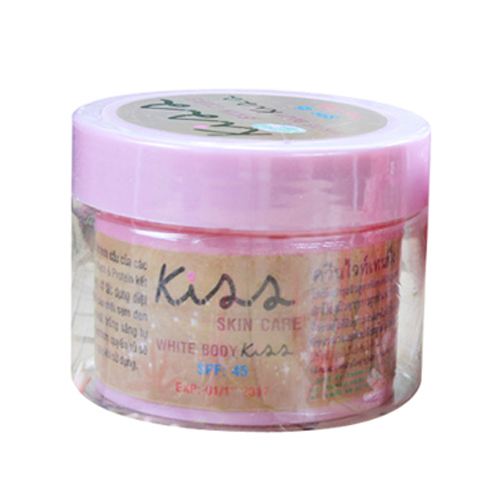 Kiss Skin Care White Body Kiss SPF45+