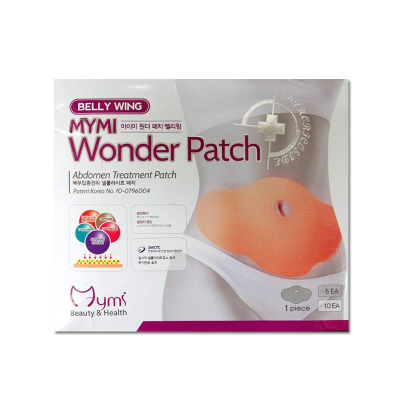 Miếng dán tan mỡ bụng Wonder Patch
