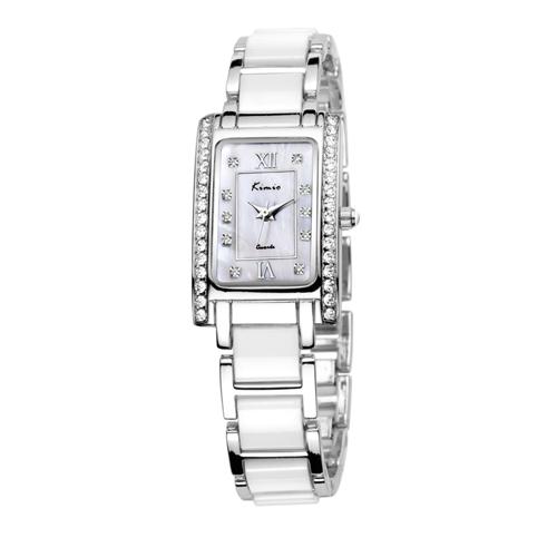 Đồng hồ KIMIO HCN viền ngọc giả đá KI019