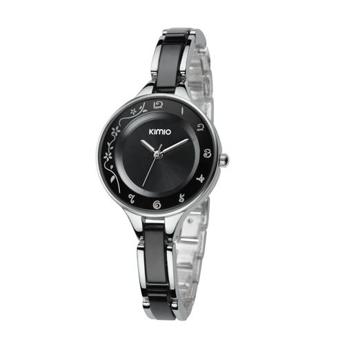 Đồng hồ KIMIO hoa văn nữ tính KI009