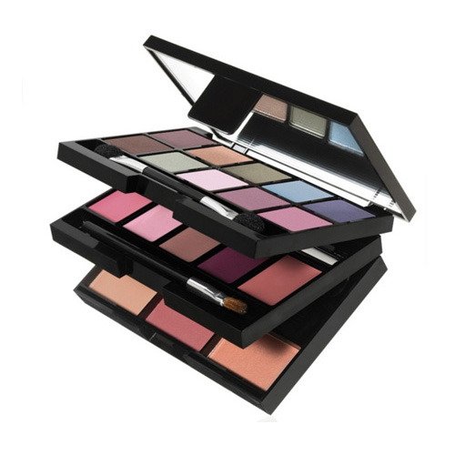Kit trang điểm 3 tầng ELF Studio 22 Piece Mini On The Go Palette