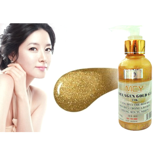 Gel lột vàng Collagen Gold MCY 24K