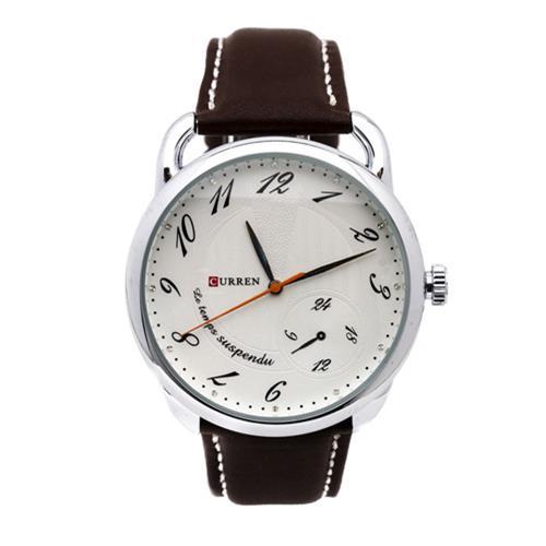 Đồng hồ nam dây da CURREN CR010 (Nâu)