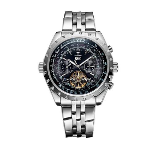 Đồng hồ nam dây thép không gỉ OUYAWEI OUY006 (Xanh)