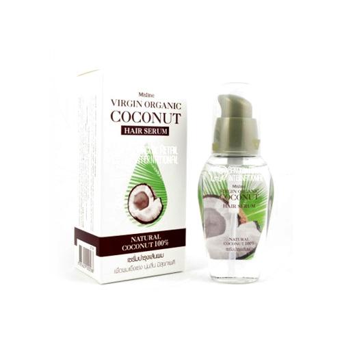 Xịt dưỡng tóc Virgin Oranic Coconut Mistine