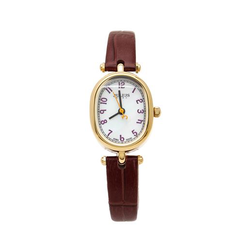 Đồng hồ nữ Julius JU1025 (Nâu đỏ)