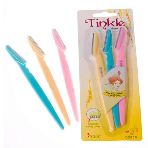 Bộ 3 dao cạo chân mày Tinkle