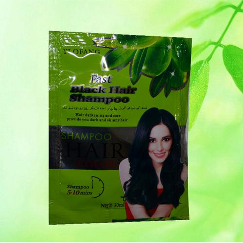 Hộp 10 gói dầu gội đen tóc Black Hair Shampoo