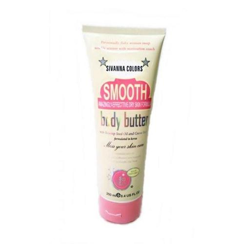 Kem dưỡng trắng make up body Sivanna Smooth Body Butter
