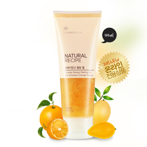 Tẩy tế bào chết Natural Recipe Orange Mango Peeling Gel