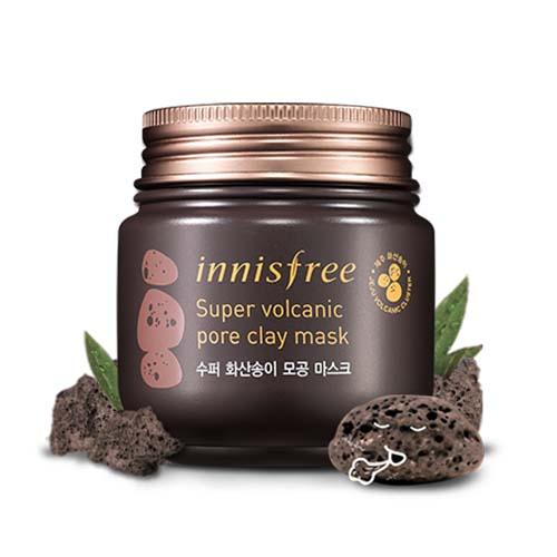 Mặt nạ đất sét Innisfee Super Volcanic Pore Clay Mask