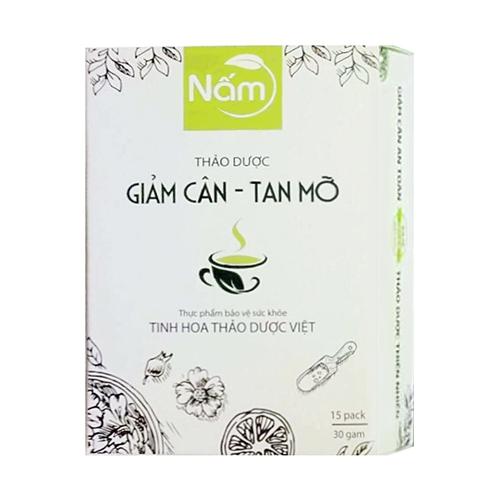 Trà thảo dược giảm cân tan mỡ Nấm