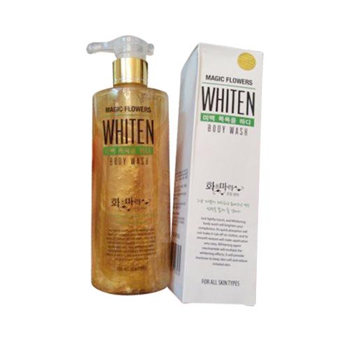 Sữa tắm trắng Whiten Magic Flower