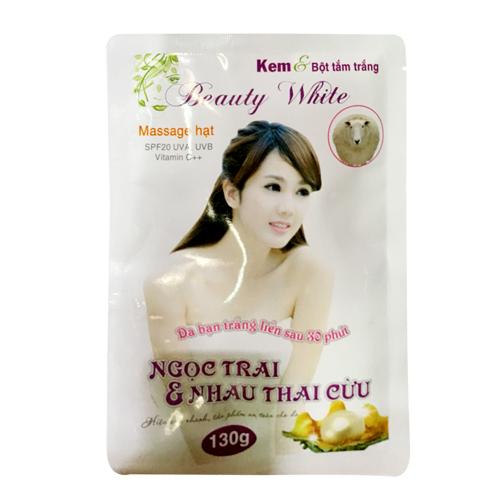 Combo 02 Kem bột tắm trắng Beauty White