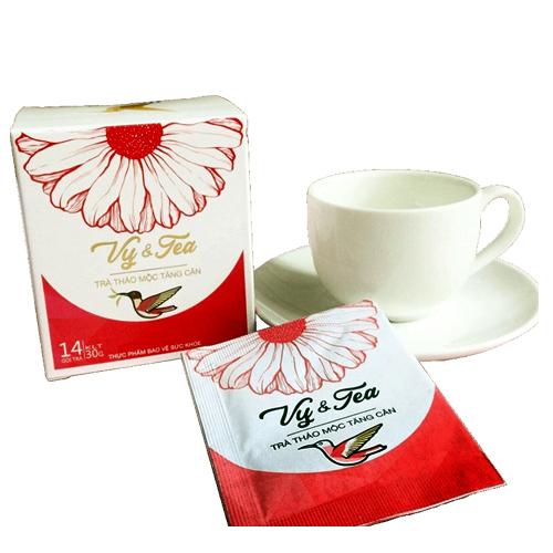 Trà thảo mộc tăng cân Vy&Tea