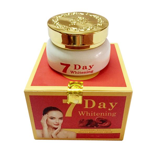 Kem trắng da 7 Day Whitening linh chi